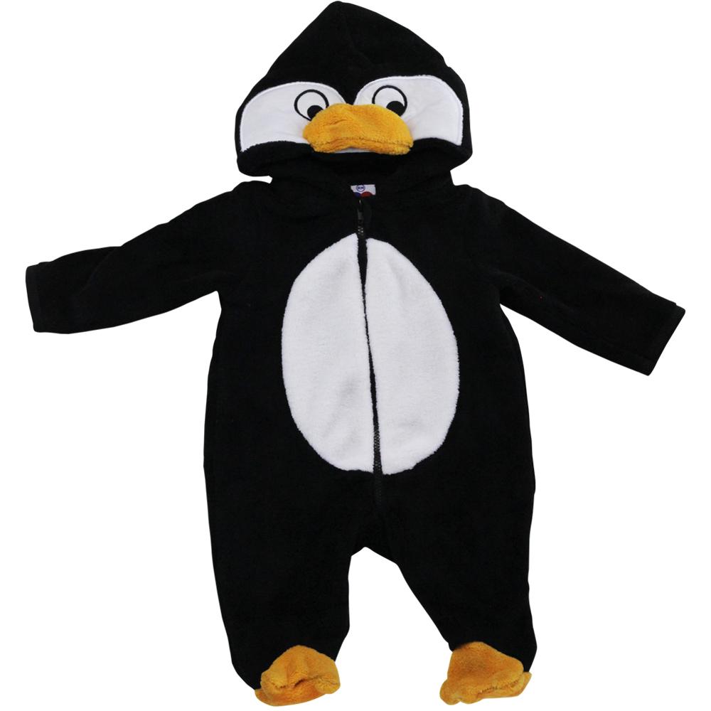 Macacão Pelúcia Tip Top Pinguim