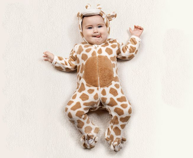 Macacao Tip Top Girafinha Pelucia