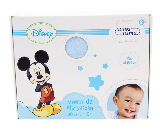 Manta Mickey Azul Cirque