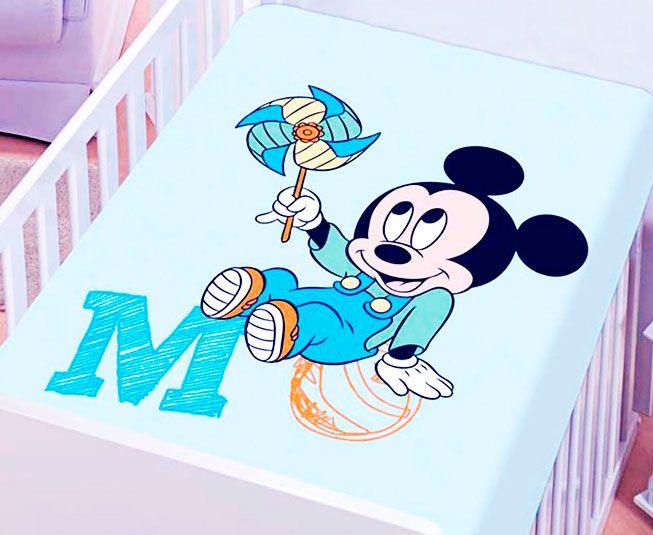 Manta Mickey Azul Catavento