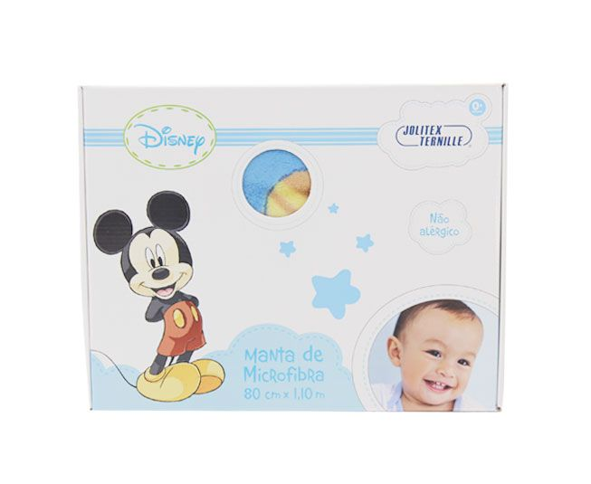 Manta Mickey Azul Foquinha