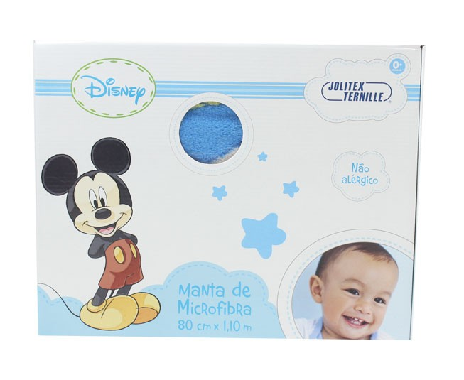 Manta Mickey Azul Roll Up