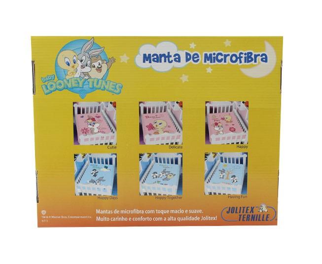 Manta Microfibra Baby Looney Tunes Cutie