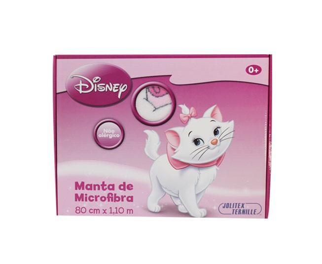 Manta Microfibra Rosa Marie com Flores
