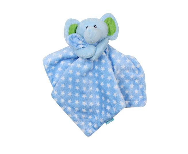 Naninha Buba Elefantinho Azul Neutro