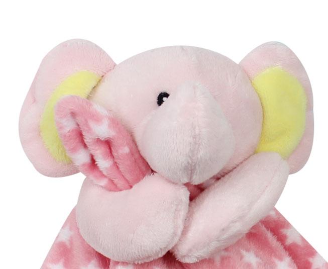 Naninha Buba Elefantinho Rosa Neutro