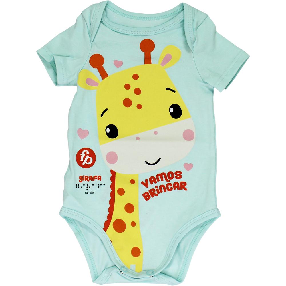 Body Girafinha Verde Malwee