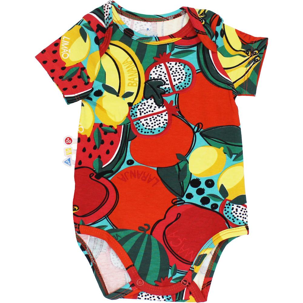 Body Frutas Bebê Malwee