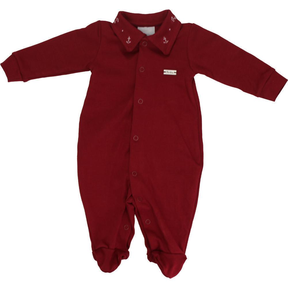 Macacão Bebê Vermelho Paraíso
