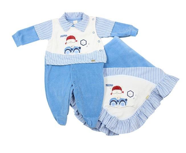 Saida de Maternidade Azul Din Don