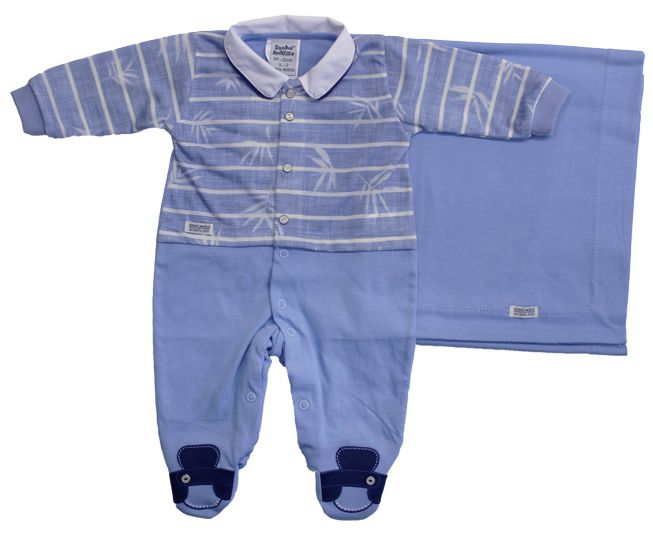 Saida de Maternidade Azul Sonho Magico