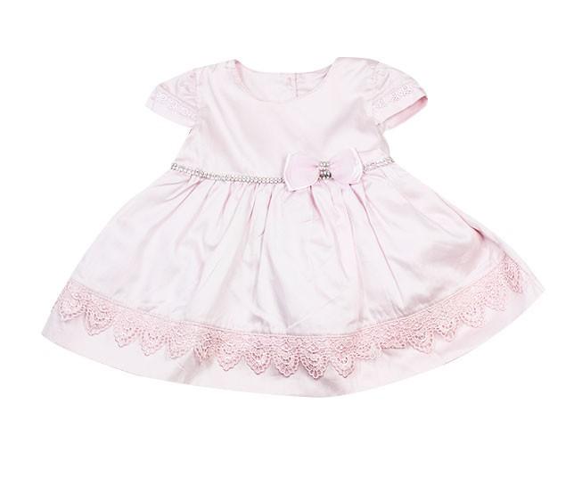 05d35c6fa ... Saida de Maternidade Vestido Rosa - Criança e Bebê ...