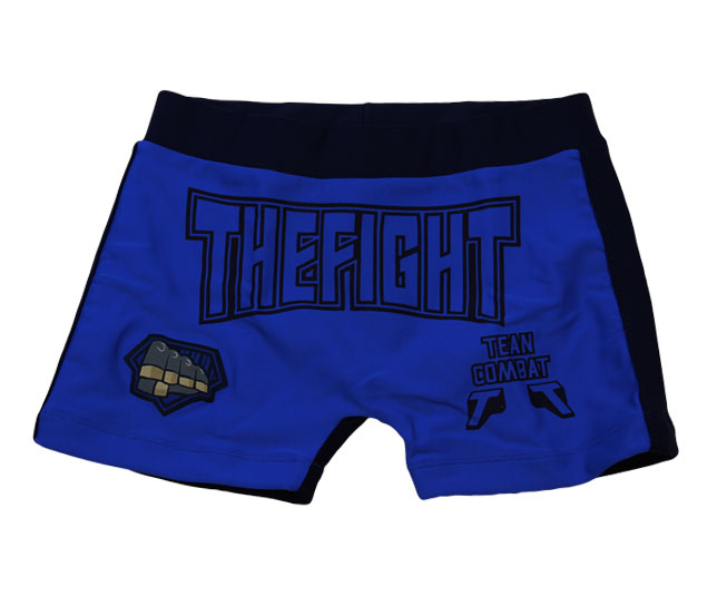 Short Infantil Tip Top Casual Azul Royal Estampada Thefight