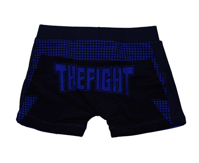 Short Infantil Tip Top Casual Azul Royal Estampada Thefight