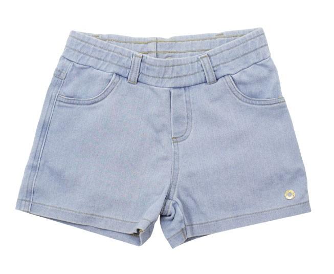 Short Jeans Feminino Azul Aço Milon