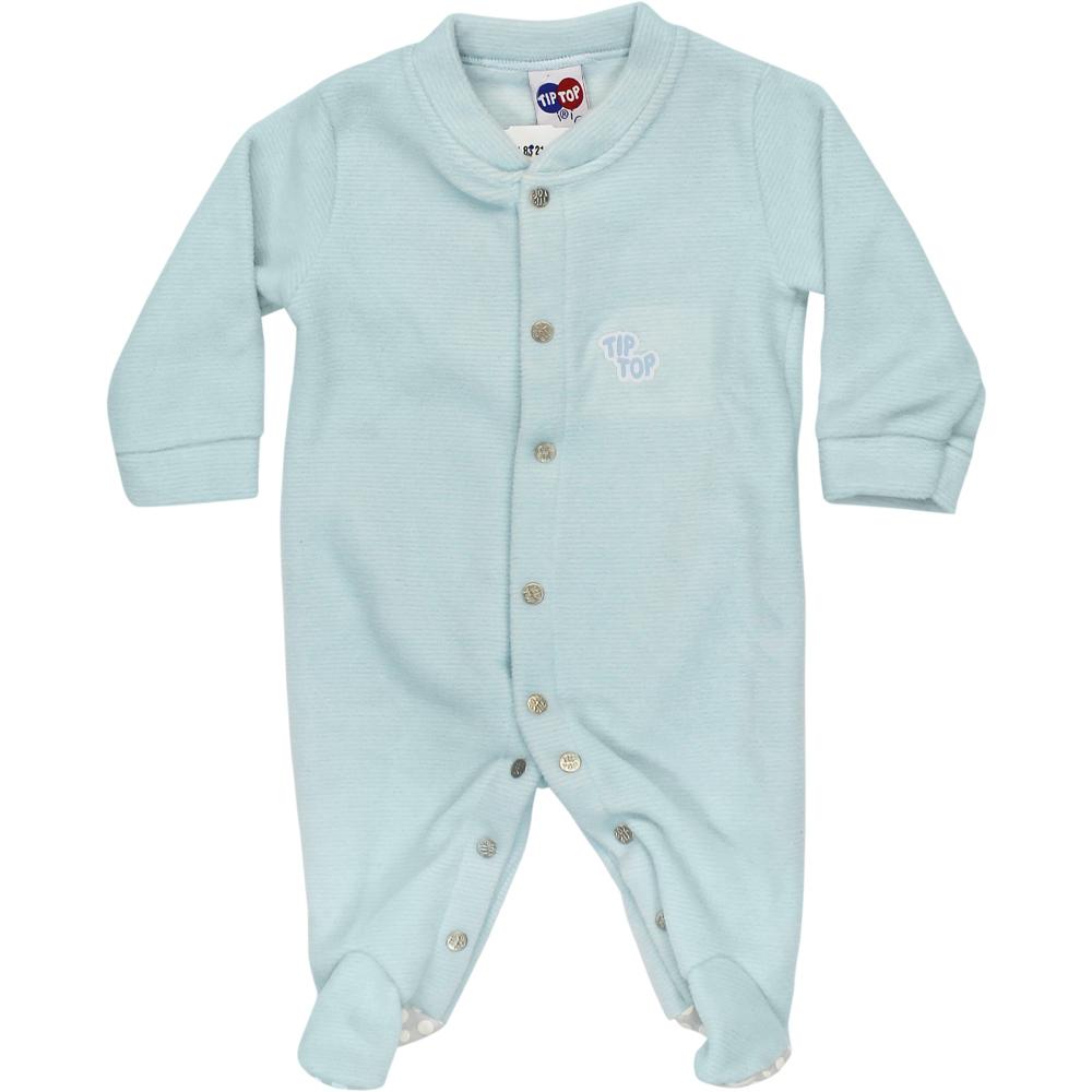 Macacão Plush Tip Top Pijama Azul