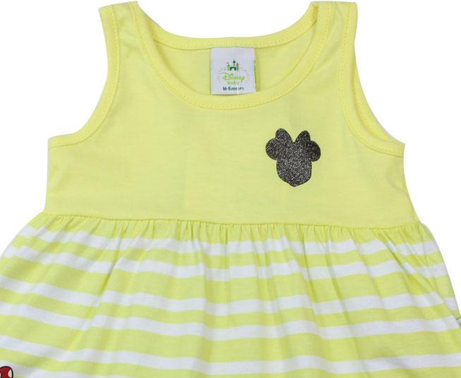 Vestido Amarelo Minnie Brandili