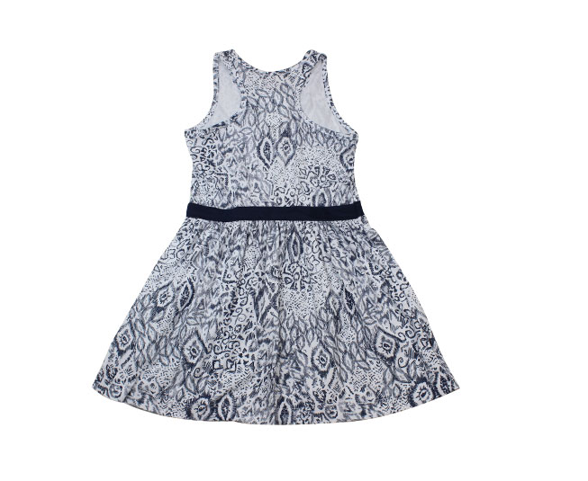 Vestido Azul / Branco Brandili