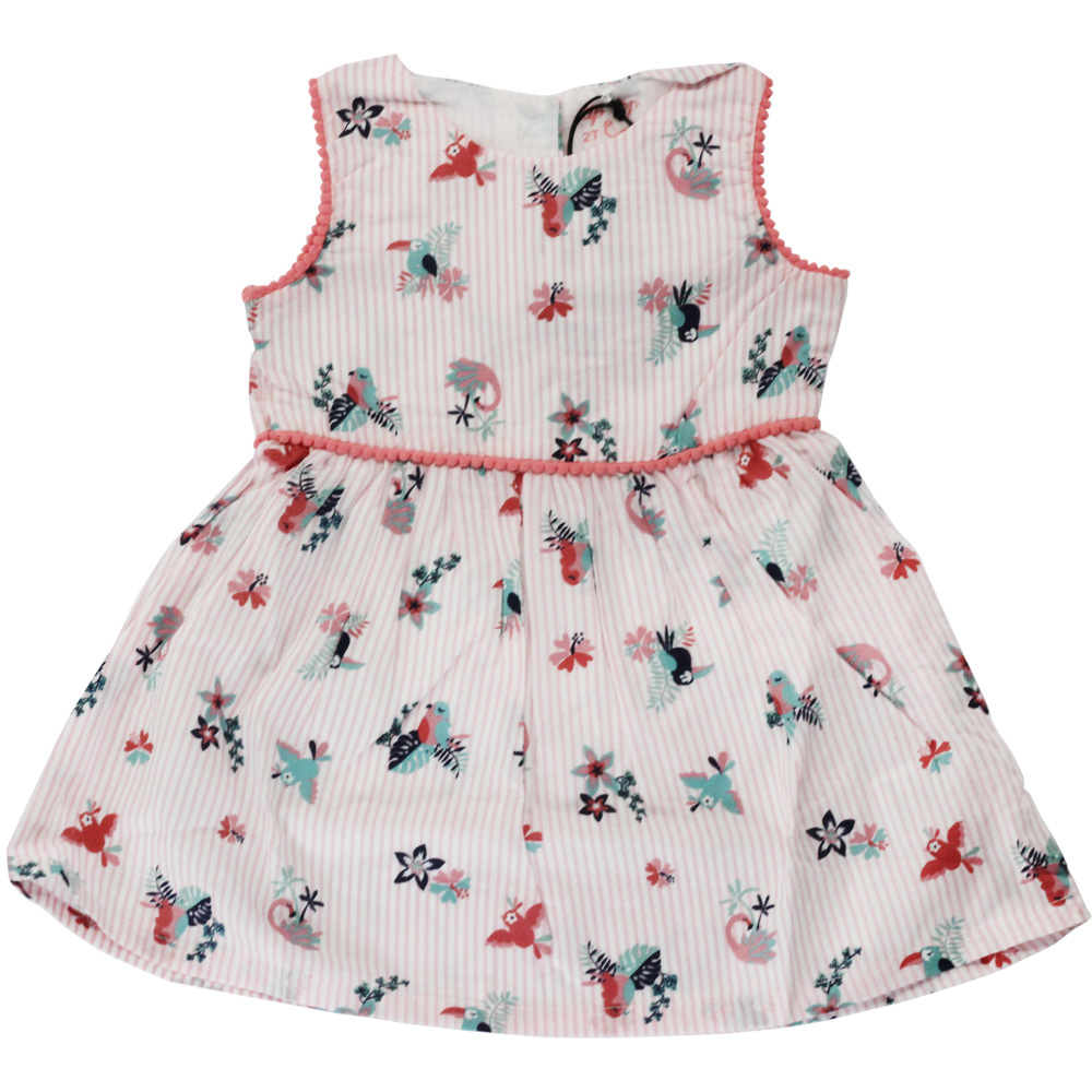 Vestido De Criança Rosa Tip Top