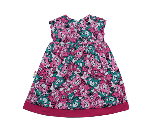 Vestido de Ursinhos + Lacinho Zig Zig Zaa