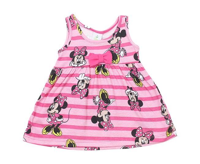 Vestido Estampado Minnie Rosa Brandili
