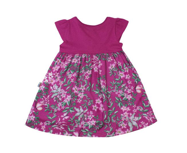 Vestido Monica Baby Roxo Brandili