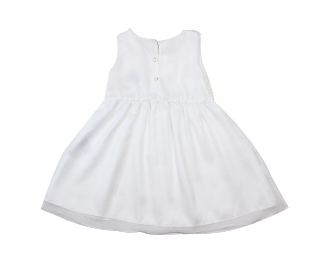 Vestido Regata Branco Florido Milton
