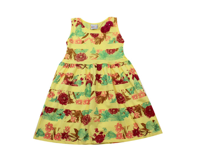 Vestido Regata Florido kaiani