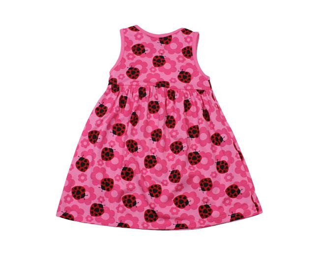 Vestido Rosa Joaninha Kyly