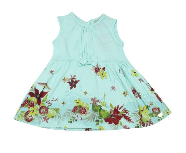 Vestido Verde Florido Carinhoso