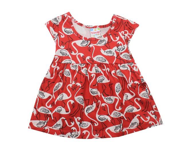 Vestido Vermelho Flamingo Brandili