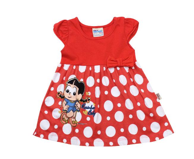 Vestido Vermelho Rosinha Baby Brandili