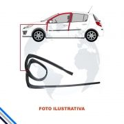 Canaleta Dianteira Esquerda Honda Civic 2012-2016