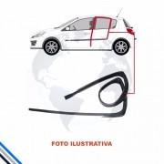 Canaleta Porta Traseira Direita Peugeot 206 1999-2009
