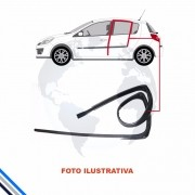 Canaleta Traseira Direita Nissan March 2012-2016