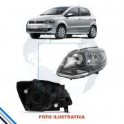 Farol Dianteiro Esquerdo Vw Fox/spacefox 2010-2013 - Arteb