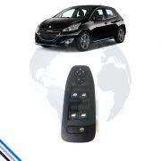 Interruptor Vidro Dianteiro Esquerdo Peugeot 208 2013-2016