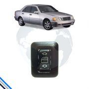 Interruptor Vidros Portas Diant/Tras/Esq/Dir Mercedes Benz C-280 1994-1999