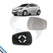 Lente Retrovisor Externo Direito Hyundai Hb20 2012-2016 - Metagal