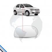 Lente Retrovisor Externo Direito Fiat Palio (giv) 2008-2011 - Metagal
