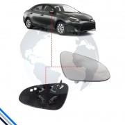Lente Retrovisor Externo Direito Toyota Corolla 2014-2016 - Smr