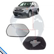 Lente Retrovisor Externo Esquerdo Honda Cr-V 2007-2011 -