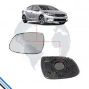 Lente Retrovisor Externo Esquerdo Kia Cerato 2009-2013 - Gcomponentes