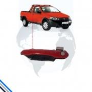 Macaneta Externa Dianteira Esquerda Fiat Palio/Idea 2005-20016