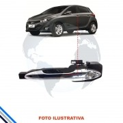 Macaneta Externa Dianteira Esquerda Hyundai Hb20/Hb20s 2013-2015