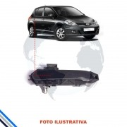 Macaneta Externa Traseira Direita Nissan Tiida 2007-2013
