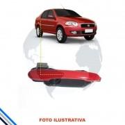 Macaneta Externa Traseira Esquerda Fiat Palio/Week/Siena/Grand/Idea 2005-2016