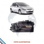 Macaneta Interna Dianteira Esquerda Peugeot 307 2002-2011