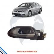 Macaneta Interna Traseira Esquerda Honda Civic 2007-2011