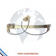 Maquina de Vidro Pt Diant Dir Mec Volkswagen Gol/Voyave/Saveiro/Parati 1980-1988